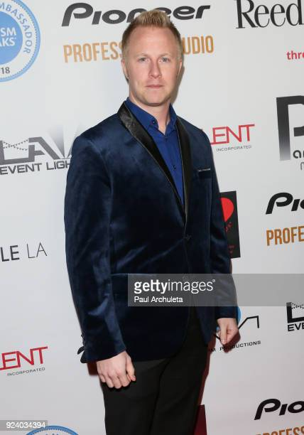 Actor Nate Warren attends the Gifting Your Spectrum gala benefiting Autism Speaks on February 24 2018 in Hollywood California