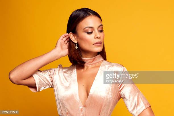 Actor Nathalie Kelley of CW's 'Dynasty' poses for a portrait during the 2017 Summer Television Critics Association Press Tour at The Beverly Hilton...