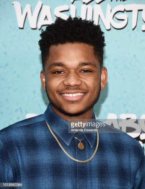 Actor Nathan Anderson arrives at a screening of Netflix's 'All About The Washingtons' at Madera Kitchen Bar on August 8 2018 in Hollywood California