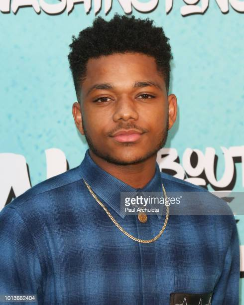 Actor Nathan Anderson attends the screening of Netflix's 'All About The Washingtons' at Madera Kitchen Bar on August 8 2018 in Hollywood California