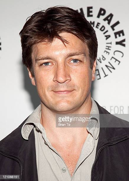 Actor Nathan Fillion arrives at PaleyFest09 'Dr Horrible's SingAlong Blog' at the ArcLight on April 14 2009 in Hollywood California