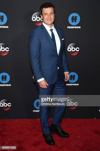 Actor Nathan Fillion attends during 2018 Disney ABC Freeform Upfront at Tavern On The Green on May 15 2018 in New York City