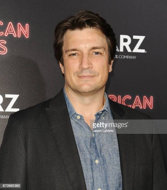 Actor Nathan Fillion attends the premiere of American Gods at ArcLight Cinemas Cinerama Dome on April 20 2017 in Hollywood California