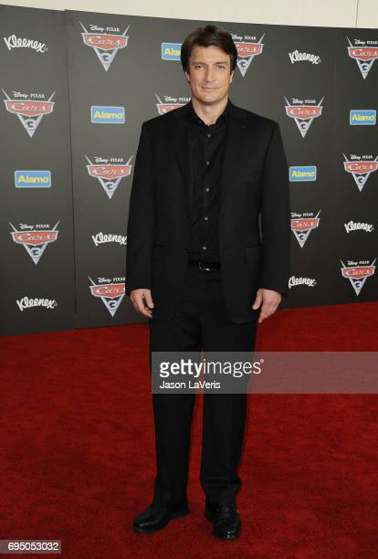 Actor Nathan Fillion attends the premiere of 'Cars 3' at Anaheim Convention Center on June 10 2017 in Anaheim California