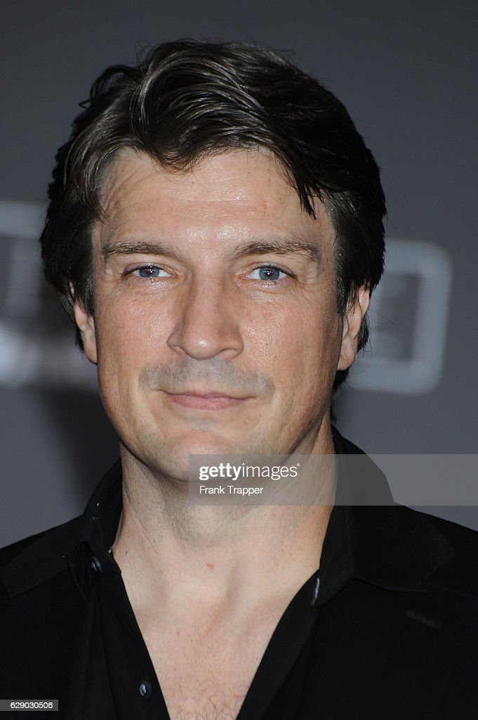 Actor Nathan Fillion attends the premiere of Walt Disney Pictures and Lucasfilm's 'Rogue One: A Star Wars Story' at the Pantages Theatre on December 10, 2016 in Hollywood, California.