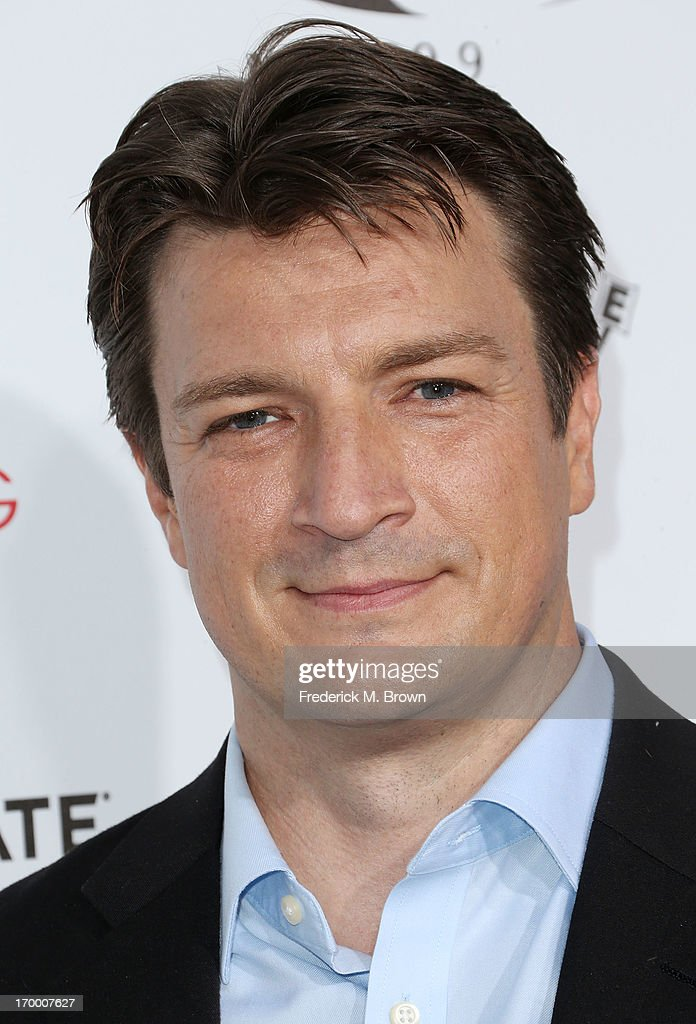 Actor Nathan Fillion attends the screening of Lionsgate and Roadside Attractions' 'Much Ado About Nothing' at Oscar's Outdoors Hollywood theater on June 5, 2013 in Hollywood, California.