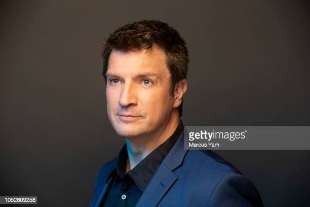 Actor Nathan Fillion is photographed for Los Angeles Times on September 8 2018 in Beverly Hills California PUBLISHED IMAGE CREDIT MUST READ Marcus...