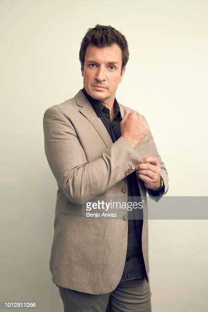 Actor Nathan Fillion of ABC's 'The Rookie' poses for a portrait during the 2018 Summer Television Critics Association Press Tour at The Beverly...