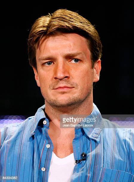 Actor Nathan Fillion of the television show 'Castle' attends the Disney/ABC Television Group portion of the 2009 Winter Television Critics...