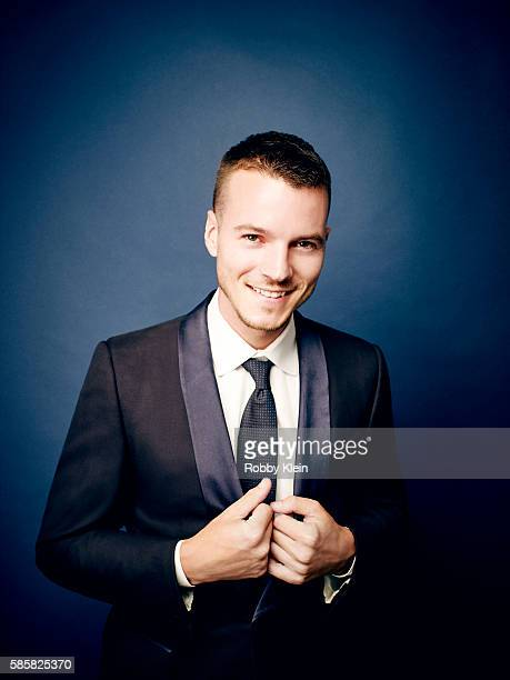 Actor Nathan Keyes is photographed at the Hallmark Channel Summer 2016 TCA's on July 27 2016 in Los Angeles California