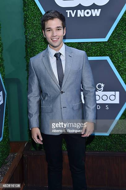 Actor Nathan Kress attends the 2014 Young Hollywood Awards brought to you by Samsung Galaxy at The Wiltern on July 27 2014 in Los Angeles California
