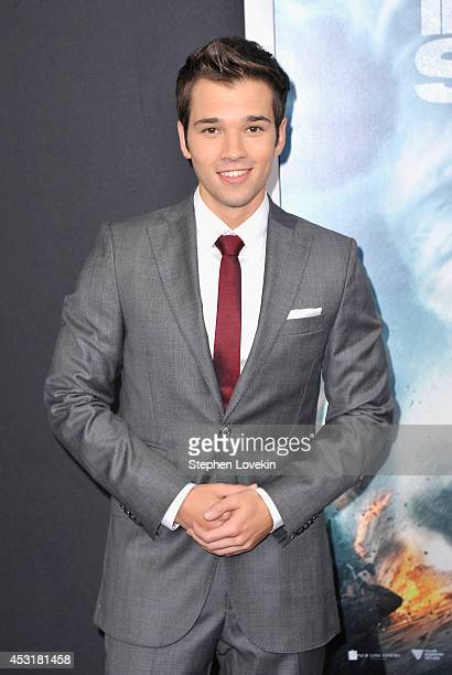 Actor Nathan Kress attends the 'Into The Storm' premiere at AMC Lincoln Square Theater on August 4 2014 in New York City