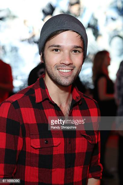 Actor Nathan Kress attends the Xbox Gears Of War 4 Los Angeles launch event at The Microsoft Lounge on September 30 2016 in Venice California
