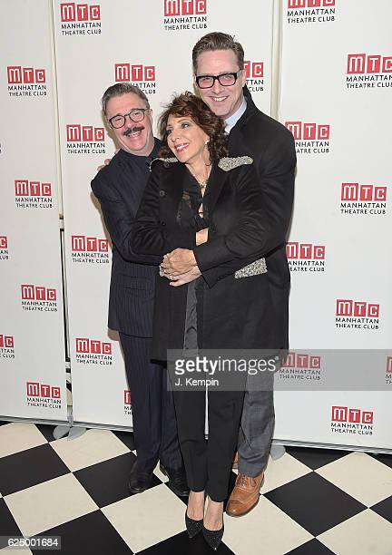 Actor Nathan Lane actress Andrea Martin and Devlin Elliott attend the 2016 Manhattan Theatre Club's Fall Benefit at 583 Park Avenue on November 21...