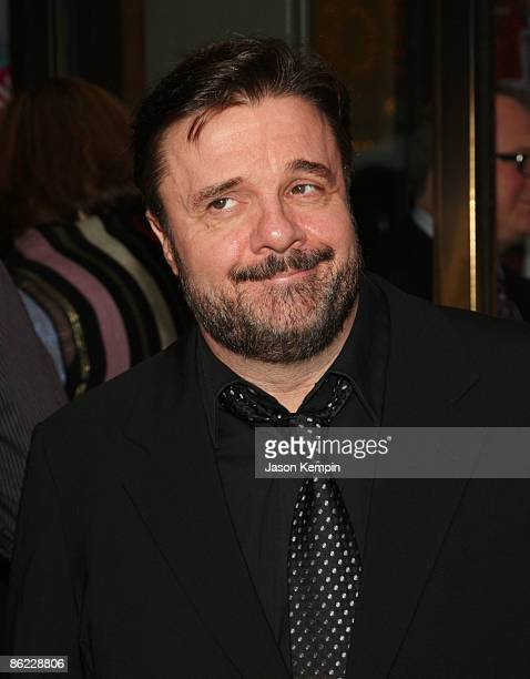 Actor Nathan Lane attends the opening night of 'The Philanthropist' on Broadway at the Roundabout Theatre Company's American Airlines Theatre on...