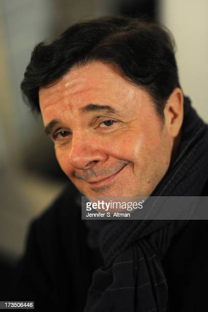 Actor Nathan Lane is photographed for Los Angeles Times on April 12 2013 in New York City