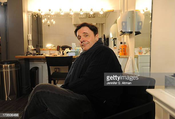 Actor Nathan Lane is photographed for Los Angeles Times on April 12 2013 in New York City PUBLISHED IMAGE