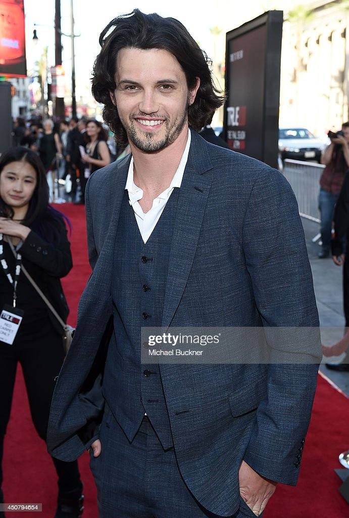 Actor Nathan Parsons attends Premiere Of HBO's 'True Blood' Season 7 And Final Season at TCL Chinese Theatre on June 17, 2014 in Hollywood, California.