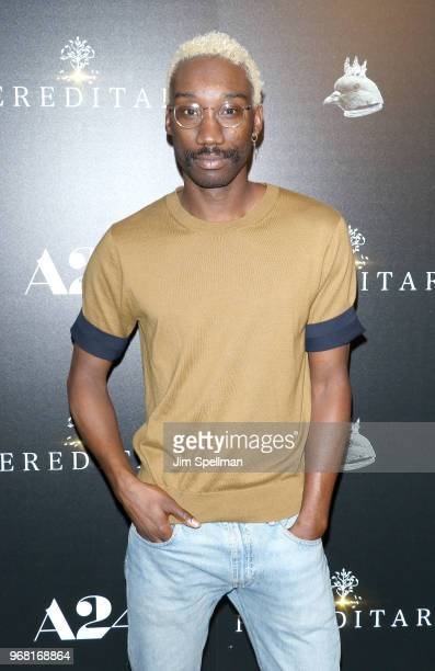 Actor Nathan StewartJarrett attends the screening of 'Hereditary' hosted by A24 at Metrograph on June 5 2018 in New York City