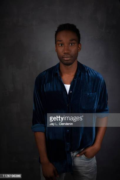 Actor Nathan StewartJarrett from 'Mope' is photographed for Los Angeles Times on January 27 2019 at the 2019 Sundance Film Festival in Salt Lake City...