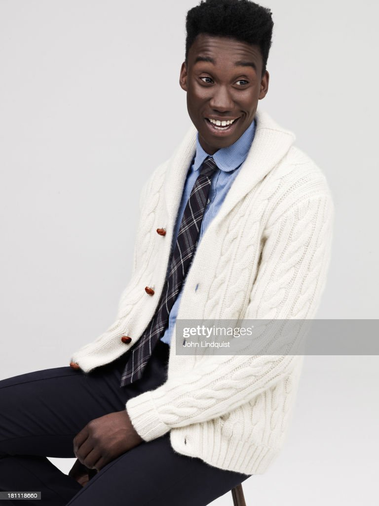 Actor Nathan Stewart-Jarrett is photographed for Mr Porter on August 19, 2011 in London, England.