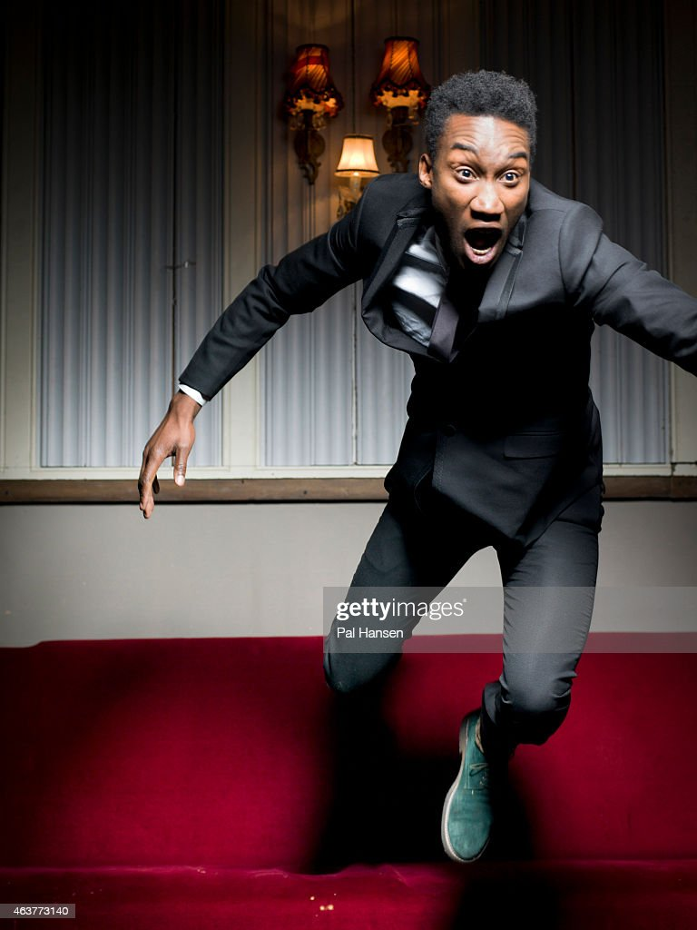 Actor Nathan Stewart-Jarrett is photographed on November 2, 2013 in London, England.