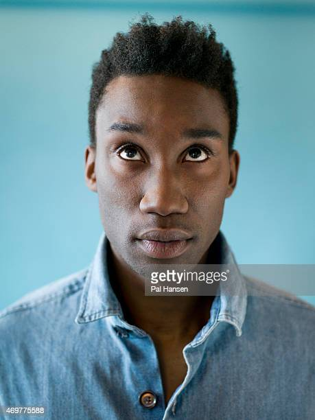 Actor Nathan StewartJarrett is photographed on November 2 2013 in London England