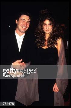 Actor Nathaniel Parker and Actress Anna Patrick attend the ...