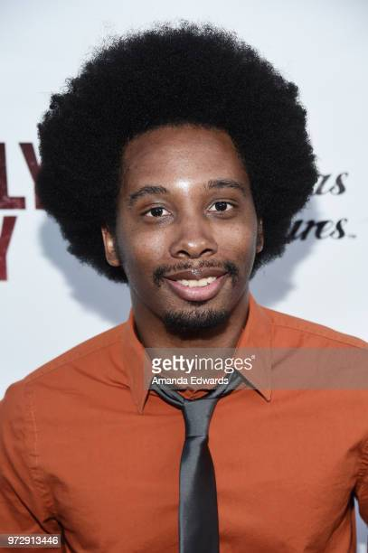 Actor Nathaniel Stroud arrives at the Los Angeles premiere of 'Billy Boy' at the Laemmle Music Hall on June 12 2018 in Beverly Hills California
