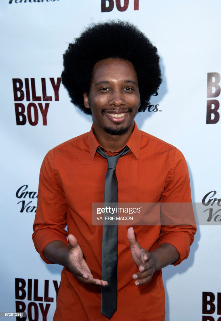 Actor Nathaniel Stroud attends the Los Angeles Premiere of Billy Boy, at the Laemmle Music Hall on June 12, 2018, in Beverly Hills, California.