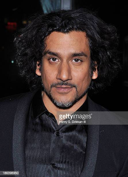 Actor Naveen Andrews attends The Cinema Society with Linda Wells Allure Magazine premiere of Entertainment One's 'Diana' after party at The Skylark...