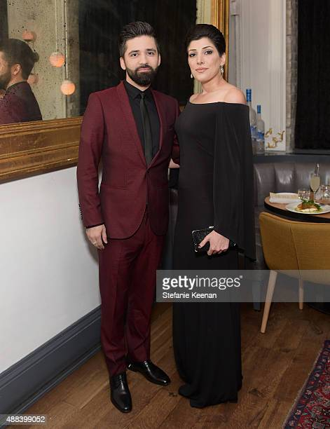 Actor Navid Navid and Jasmine Asha attend the Septembers of Shiraz TIFF Party Hosted By GREY GOOSE Vodka at Byblos on September 15 2015 in Toronto...