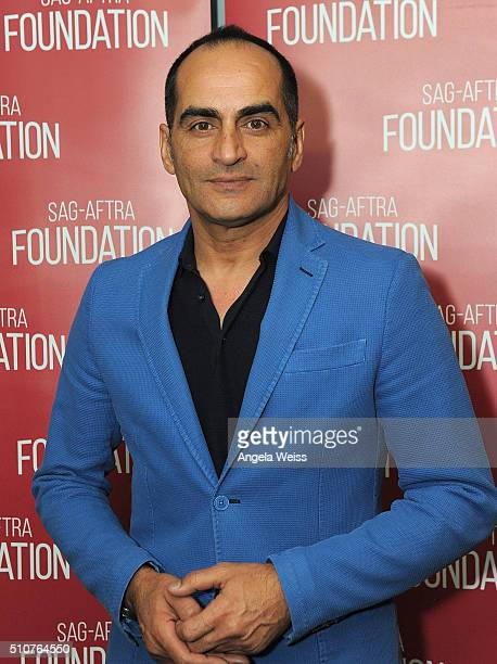 Actor Navid Negahban attends AGAFTRA Foundation's The Business Presents Acting Beyond Stereotypes Middle Eastern South Asian Actors Breaking the Mold...