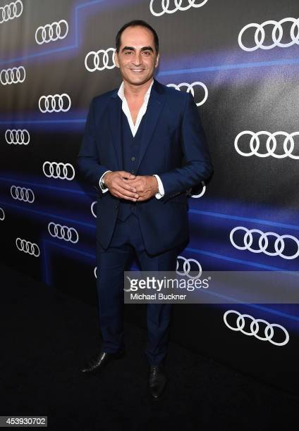Actor Navid Negahban attends Audi's Celebration of Emmys Week 2014 at Cecconi's Restaurant on August 21 2014 in Los Angeles California
