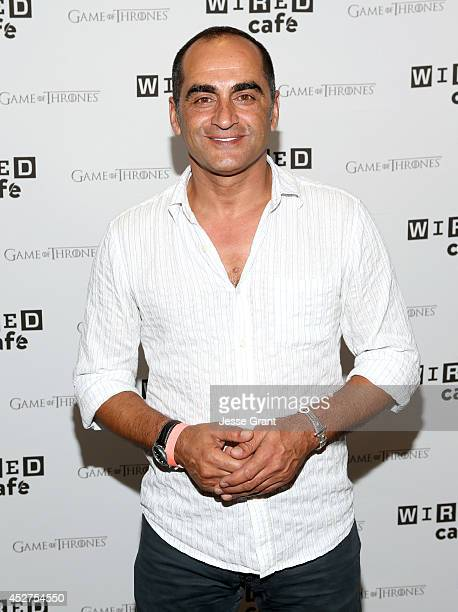 Actor Navid Negahban attends day 3 of the WIRED Cafe @ Comic Con at Omni Hotel on July 26 2014 in San Diego California