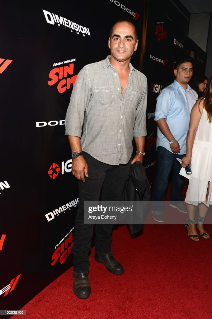 """IGN & """"Sin City: A Dame to Kill For"""" Comic-Con International Party : News Photo"""