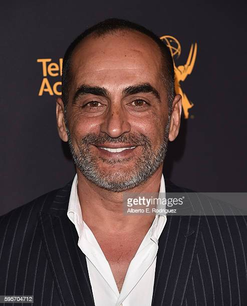 Actor Navid Negahban attends the Television Academy And SAGAFTRA's 4th Annual Dynamic and Diverse Celebration at The Saban Media Center on August 25...