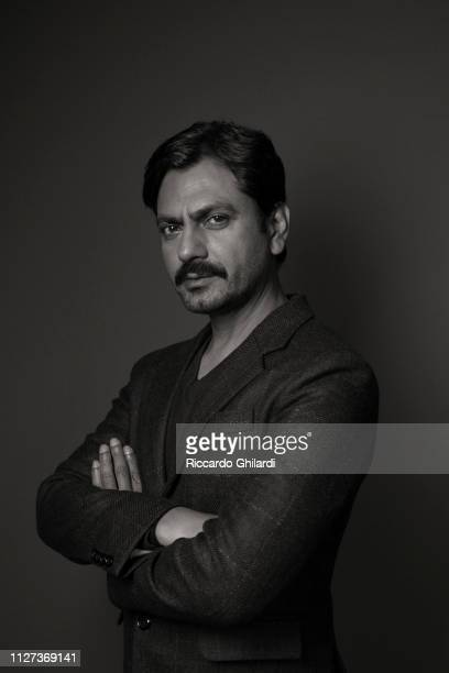 Actor Nawazuddin Siddiqui poses for a portrait during the 69th Berlinale International Film Festival on February 8 2019 in Berlin Germany