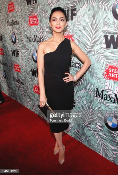 Actor Nazanin Boniadi attends the tenth annual Women in Film PreOscar Cocktail Party presented by Max Mara and BMW at Nightingale Plaza on February...