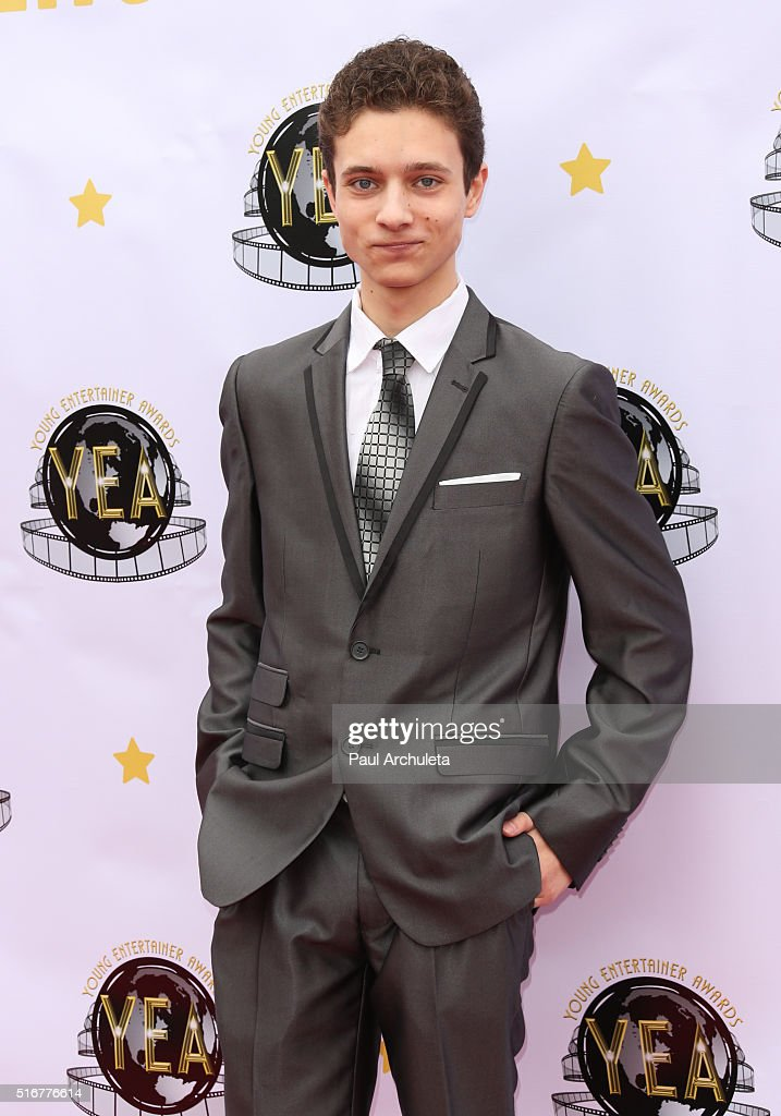 Actor Nazariy Demkowicz attends the 1st annual Young Entertainer Awards at The Globe Theatre at Universal Studios on March 20, 2016 in Universal City, California.