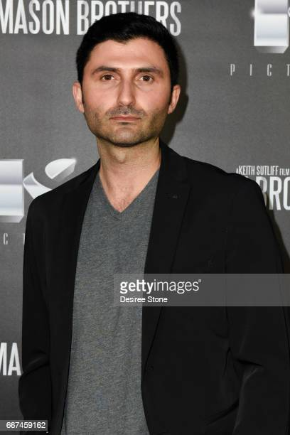 """Actor Nazo Bravo the premiere of """"The Mason Brothers"""" at the Egyptian Theatre on April 11, 2017 in Hollywood, California."""