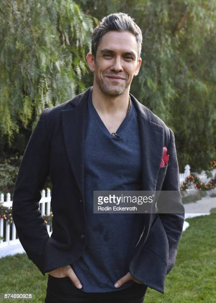 Actor Neal Bledsoe visits Hallmark's 'Home Family at Universal Studios Hollywood on November 15 2017 in Universal City California