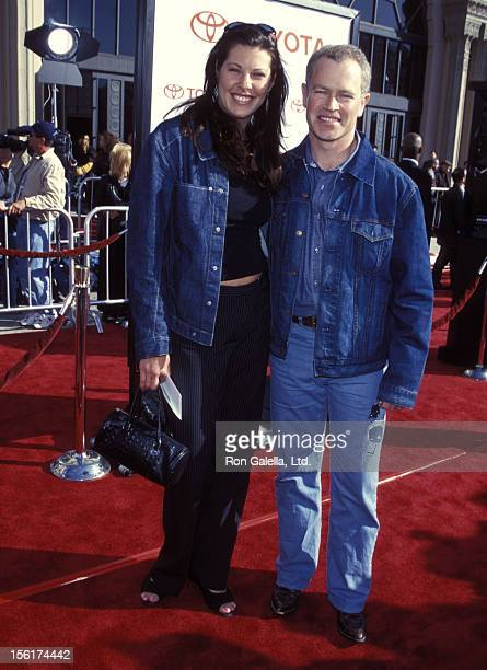 Actor Neal McDonough and girlfriend Ruve Robertson attend the 'ET The ExtraTerrestrial' 20th Anniversary Screening on March 6 2002 at Shrine...