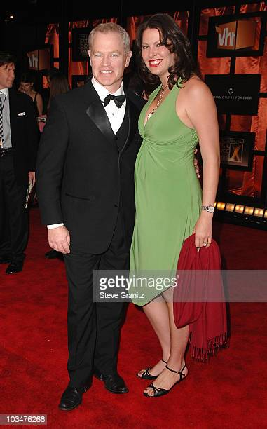 Actor Neal McDonough and wife Ruve Robertson arrive at the 13th ANNUAL CRITICS' CHOICE AWARDS at the Santa Monica Civic Auditorium on January 7, 2008...