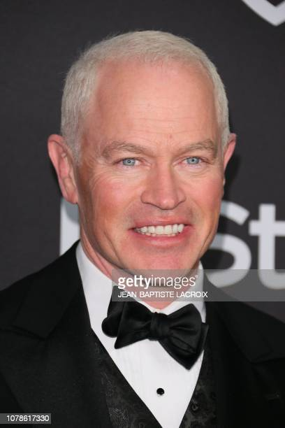 US actor Neal McDonough arrives for the Warner Bros and In Style 20th annual post Golden Globes party at the Oasis Courtyard of the Beverly Hilton...