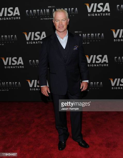 Actor Neal McDonough attends the Visa Signature VIP Screening of Captain America at AMC Loews Lincoln Square 13 theater on July 20 2011 in New York...