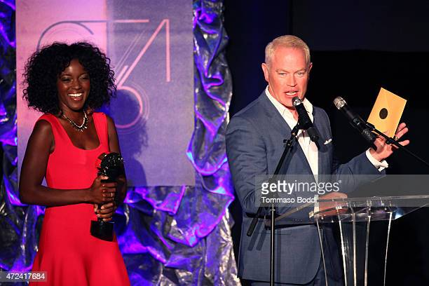 Actor Neal McDonough speaks on stage at the 16th annual Golden Trailer Awards held at Saban Theatre on May 6 2015 in Beverly Hills California