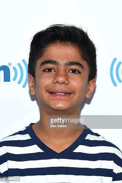 Actor Neel Sethi visits at SiriusXM Studios on August 29 2016 in New York City