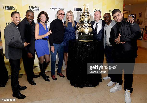 Actor Neil Brown Jr., actor Ernie Hudson, actress Amy Aquino, actor Peter Fonda, actress Mira Sorvino, IMDb founder and CEO Col Needham, comedian...