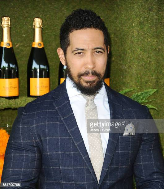 Actor Neil Brown Jr attends the 8th annual Veuve Clicquot Polo Classic at Will Rogers State Historic Park on October 14 2017 in Pacific Palisades...